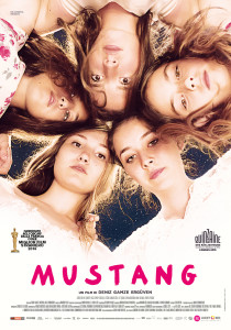 mustang lucky red poster