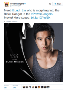 power rangers black