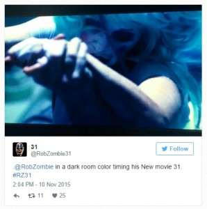 rob zombie 31 twitter