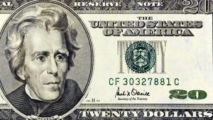 andrew jackson dollari