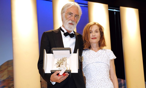 haneke huppert cannes