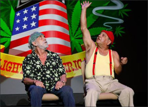 Cheech and Chong's hey, watch this!