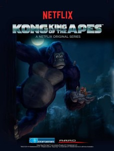 Kong King of the Apes netflix