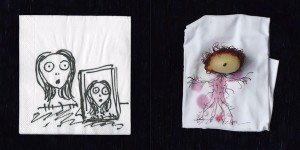 The Napkin Art of Tim Burton 2