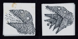 The Napkin Art of Tim Burton 3