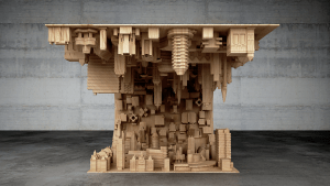 inception tavolo legno
