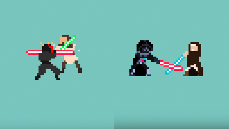 star wars pixel