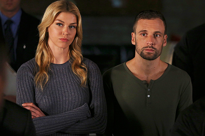 Adrianne Palicki Nick Blood