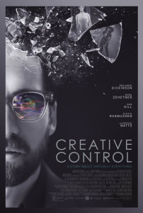 Creative Control Benjamin Dickinson poster