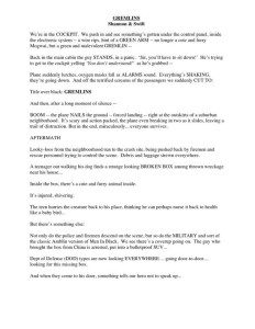 Gremlins script page 2