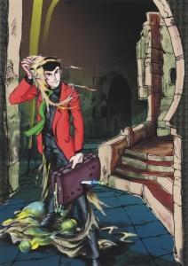 Lupin III monkey