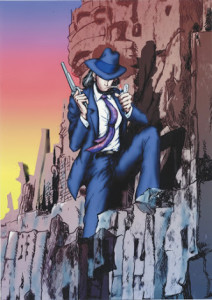Lupin III monkey 4