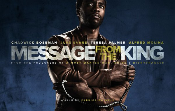 Message From the King poster 2