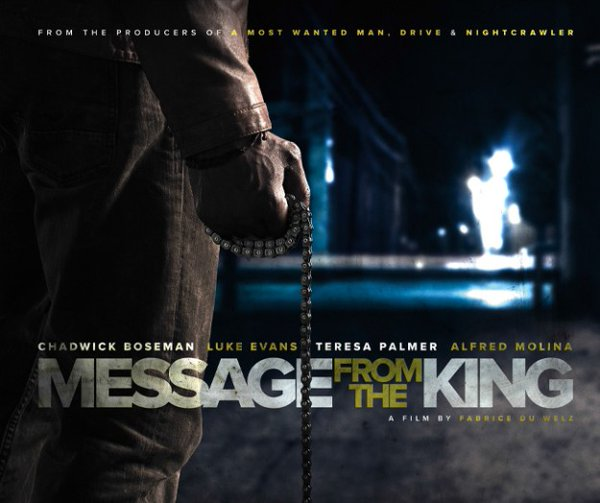 Message From the King poster