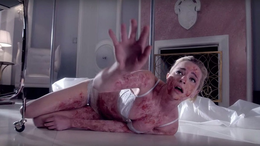 Brianne Howey novella Regan nella serie TV dell'Esorcista