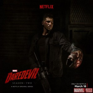 daedevil punisher poster