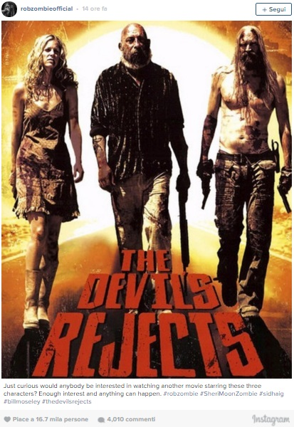 devils rejects rob instagram