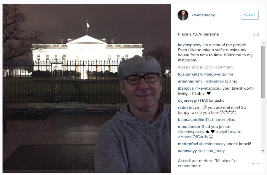kevin spacey instagram house