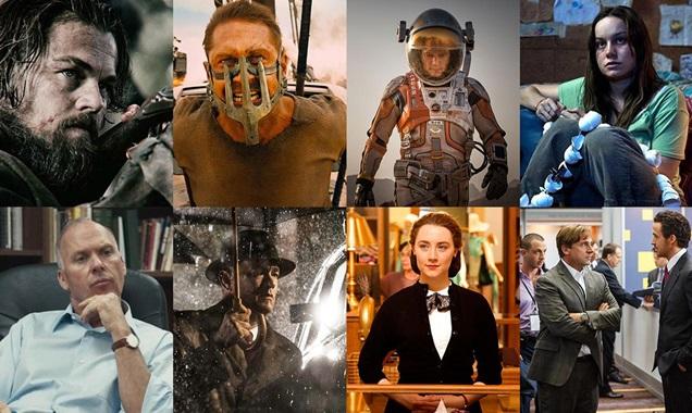 Un incredibile montaggio ci presenta tutti i film candidati agli Oscar 2016