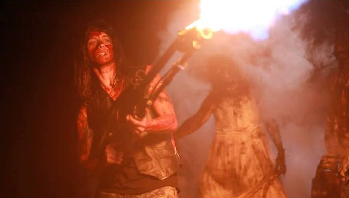 the Hairmetal Shotgun Zombie Massacre