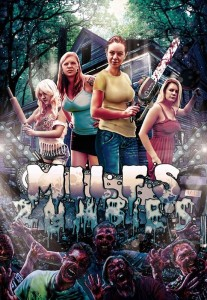 4 milfs vs zombies poster