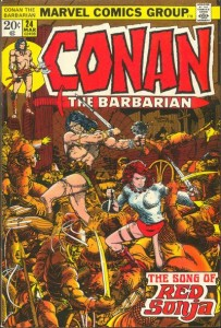 Conan the Barbarian 24 red sonja