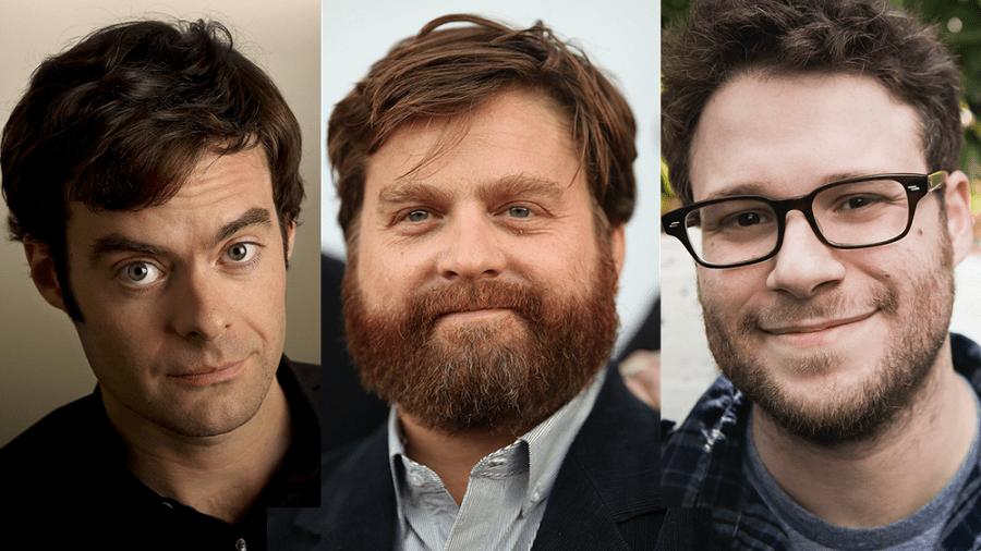 Seth Rogen, Zach Galifianakis e Bill Hader insieme per una commedia sci-fi vietata ai minori