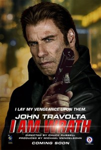 John Travolta wrath poster
