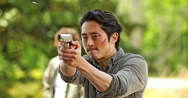 Steven Yeun alle prese con un terribile virus in Mayhem di Joe Lynch