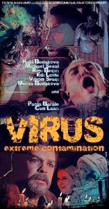 Virus Extreme Contamination poster