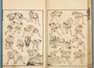 hokusai sumo