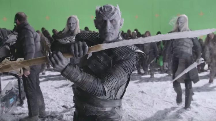 I White Walkers prendono vita nella featurette sugli effetti speciali di Il Trono di Spade
