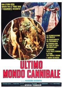 ultimo mondo cannibale poster