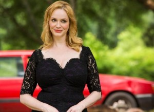 Christina Hendricks hap