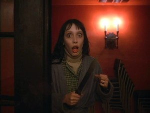 Shelley Duvall in Shining di Stanley Kubrick