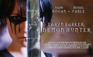Taryn Barker Demon Hunter poster