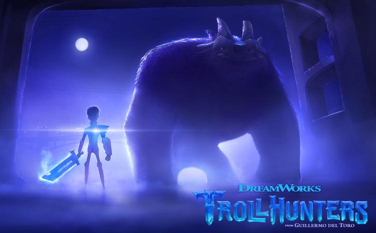 Trollhunters: prima immagine della serie animata di Guillermo del Toro
