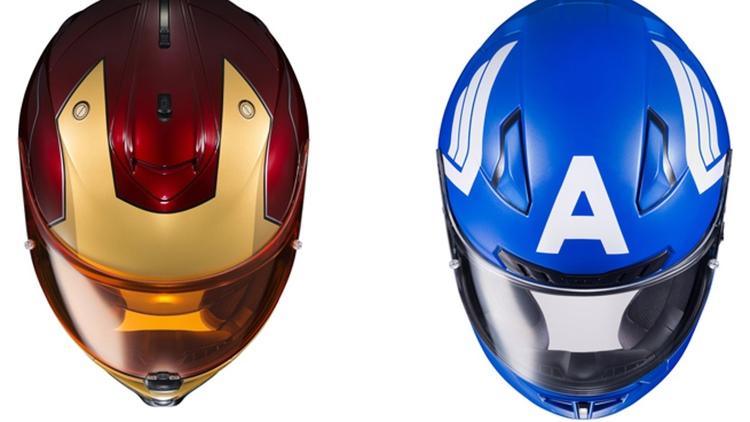 Avviso per i motociclisti: i caschi ufficiali della Marvel sono una realtà