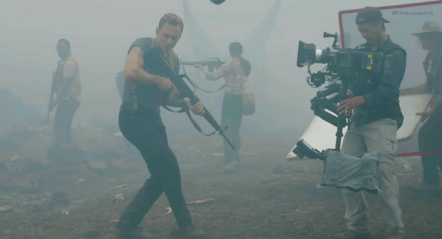 Kong - Skull Island: Tom Hiddleston e Brie Larson ci guidano sul set