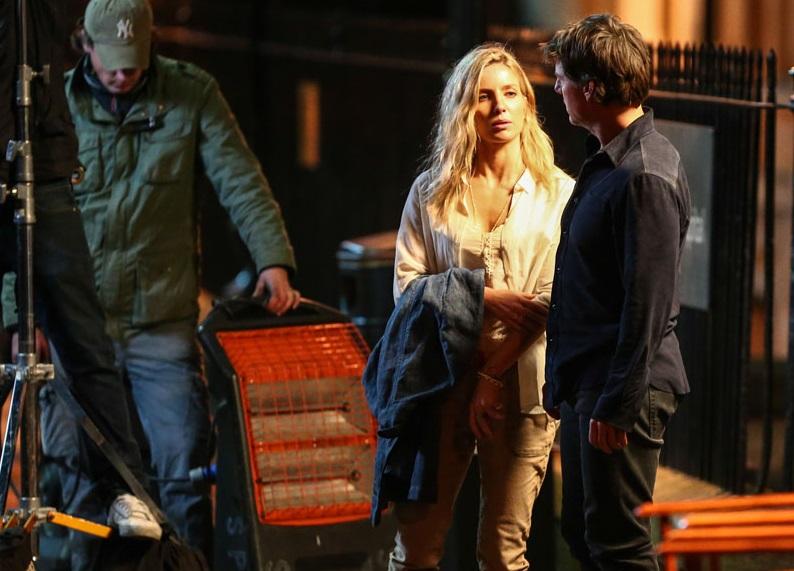 La Mummia: prime foto di Tom Cruise e Annabelle Wallis rubate sul set