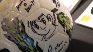 Animeland - Holly di HOLLY E BENJI disegno pallone di Y.Takahashi