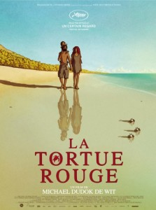 La Tortue rouge - The Red Turtle locandina