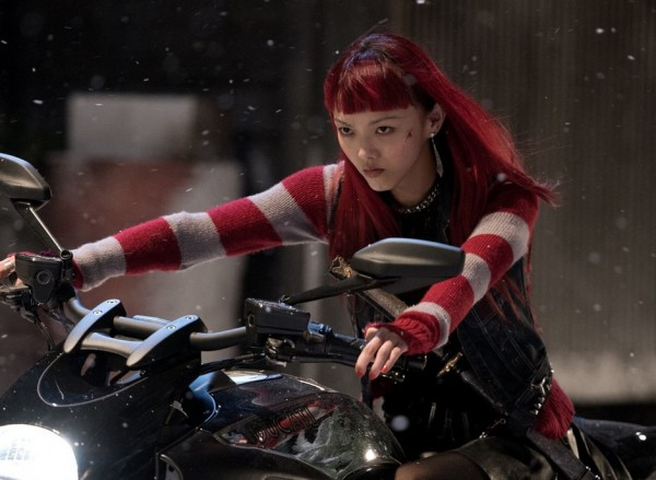 Rila Fukushima al fianco di Scarlett Johansson in Ghost in the Shell