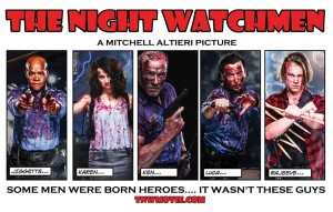 THE NIGHT WATCHMeN Mitchell Altieri locandina