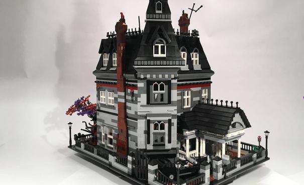 casa addams lego