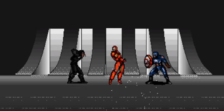 civil war 8 bit