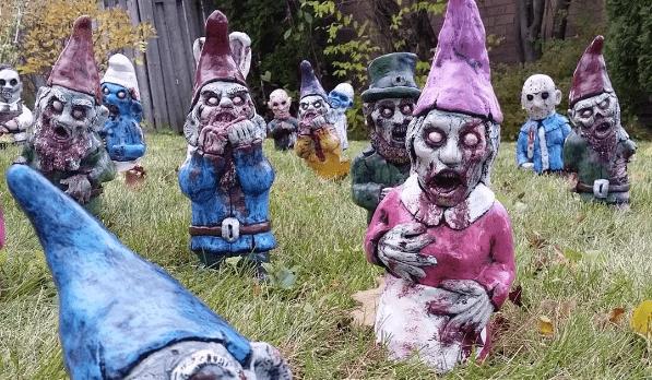 gnomi zombi giardino horror