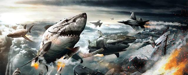 Preparatevi all'arrivo degli squali zombi nazisti volanti di Sky Sharks!