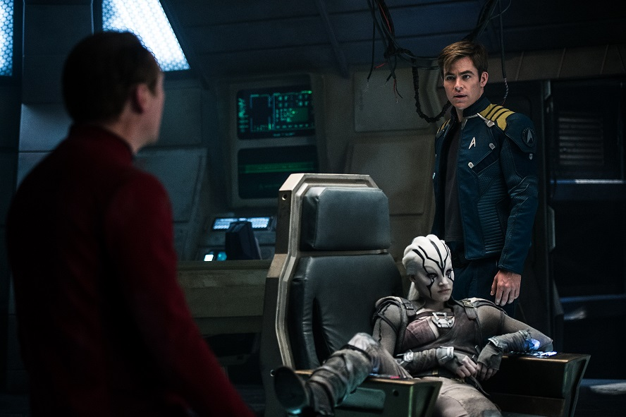 Star Trek Beyond: 4 character poster e locandina italiana per i protagonisti