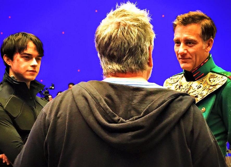 Luc Besson ci porta sul set di Valerian con le nuove foto dei protagonisti in azione